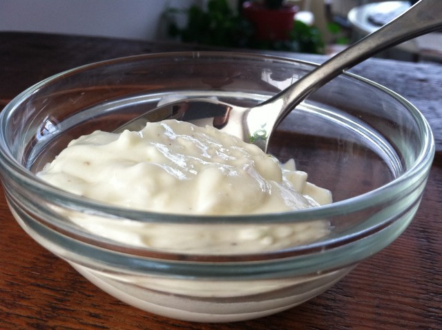 holy yogurt aioli