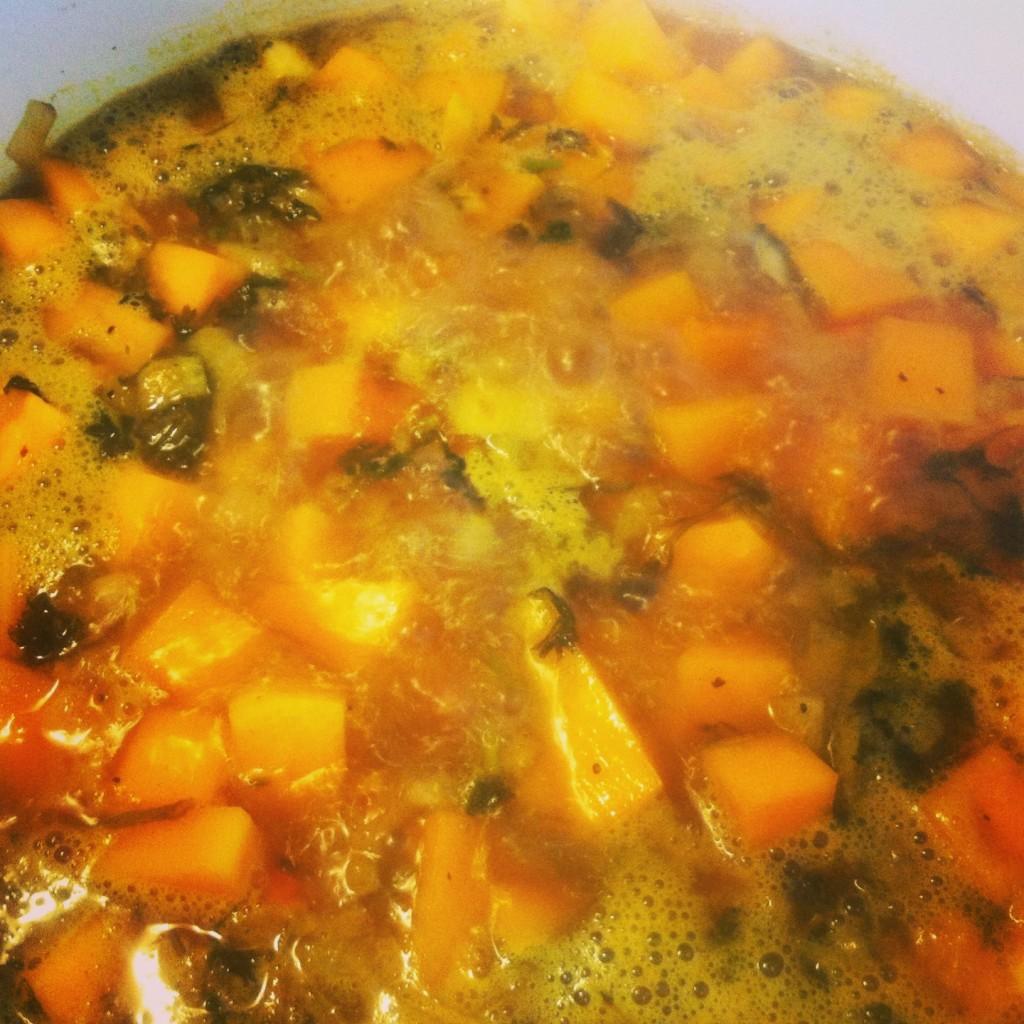 boil soup
